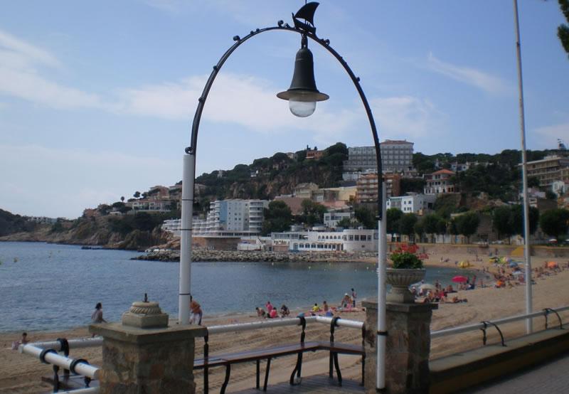 Passeig marítim Sant Feliu de Guíxols | Hotel Gesòria Porta Ferrada